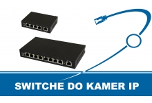 Switche do kamer IP